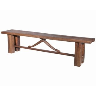 Teakwood Seminary School Bench (Thailand)