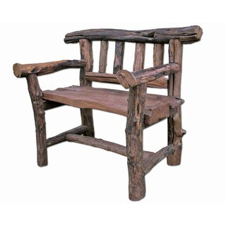 Handmade Rocky Mountain Love Seat (Bench) (Thailand)