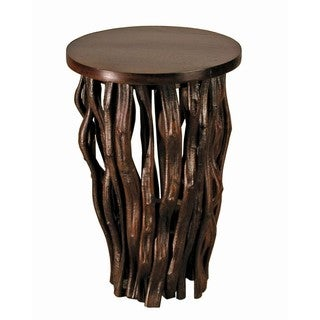 Janice Kammler Teak 'Time Revealed' Small Side Table (Thailand)