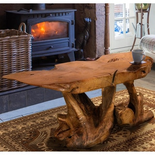 Sierra Brown Reclaimed Teak Wood Coffee Table (Thailand)