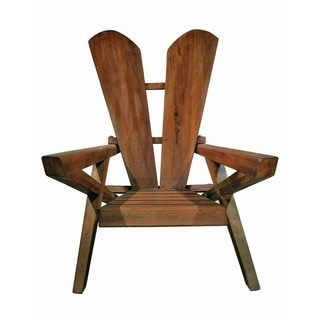 SD-0089 Groovystuff Mike Herbert Brown Teak and Barkwood Vail Chair (Thailand)