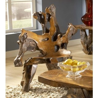 TF-0647 Bighorn Teak Root Chair