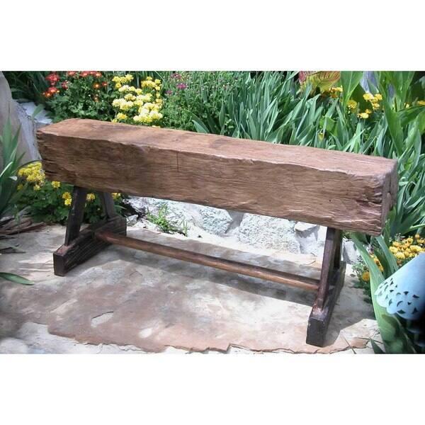 Superb Handmade Tf 0256 Groovystuff Reclaimed Teak Feed Trough Garden Bench Thailand Short Links Chair Design For Home Short Linksinfo