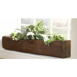 Handmade TF-0539 Groovystuff Garden Feed Trough Planter (Thailand)