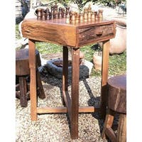 Handmade Hill Country Chess Table (Thailand)