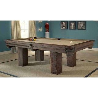 Timber Lodge Teak Wood Billiard Table (Thailand)