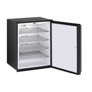 U-Line ADA Series- 24 Inch ADA Compliant Stainless Steel Door All Refrigerator w/ Lock