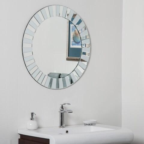 Kiara Modern Bathroom Mirror - Silver - N/A