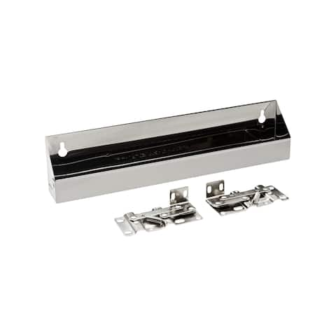 Rev-A-Shelf 6581 Series Stainless Steel 13-inch Tip-out Tray with Hinges