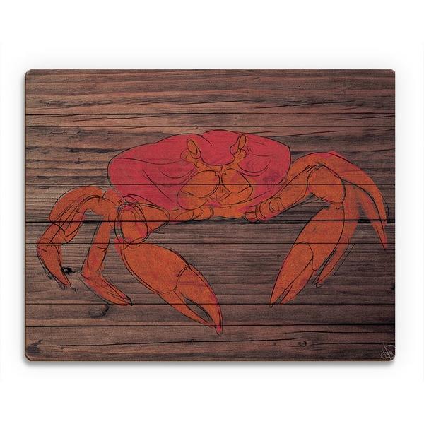 Crabby Wood Wall Art