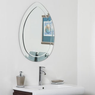 Droplet Modern Bathroom Mirror