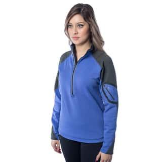 Spiral Women's Polartec Powerstretch Fleece Pullover|https://ak1.ostkcdn.com/images/products/13002726/P19747129.jpg?impolicy=medium