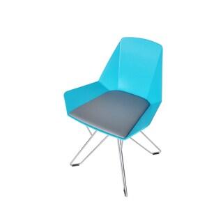 Chrome Leg Low Back Chair