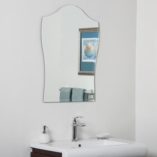 Alta Modern Bathroom Mirror - Silver