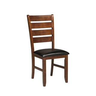 Intercon Redmond Red Mission Ladderback Dining Chair-set of 2