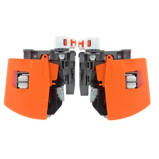 Tandem Orange B563 and B569 Series Front Locking Device (Inset) with Depth and Side to Side Adjustment (Set of 2)