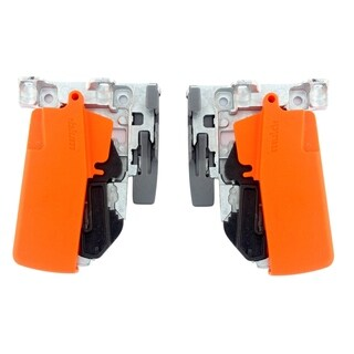 Orange Plastic Standard Tandem Front-locking Device for B563 and B569 Series (Pack of 5 Pairs)