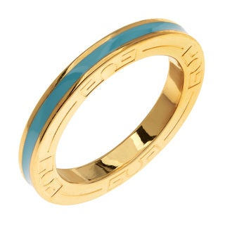 Women's Banded Plated Copper Ring