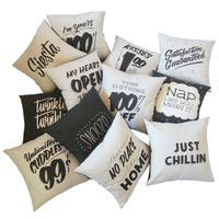 Fun and Quirky Throw Pillow Assortment