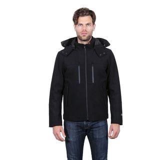 Tahari Men's Waterproof Wool Hipster Jacket