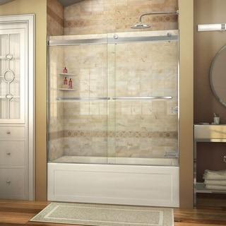 DreamLine Essence 56 to 60 in. Frameless Bypass Tub Door