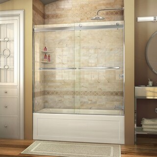 DreamLine Essence 56-60 in. W x 60 in. H Frameless Bypass Tub Door