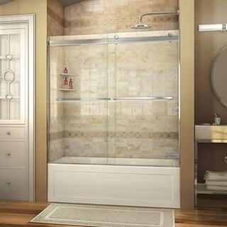 dreamline essence 56 to 60 in frameless bypass tub door