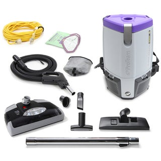Proteam ProVac Super Coach Pro 6 QT Vacuum Cleaner with Power Head