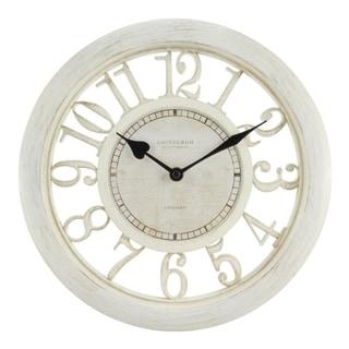 "La Crosse Equity 20857 11.5"" Delaney Floating Dial Quartz clock"