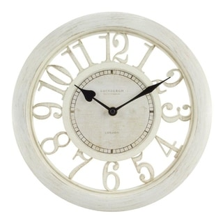 "La Crosse Equity 20857 11.5"" Delaney Floating Dial Quartz clock"