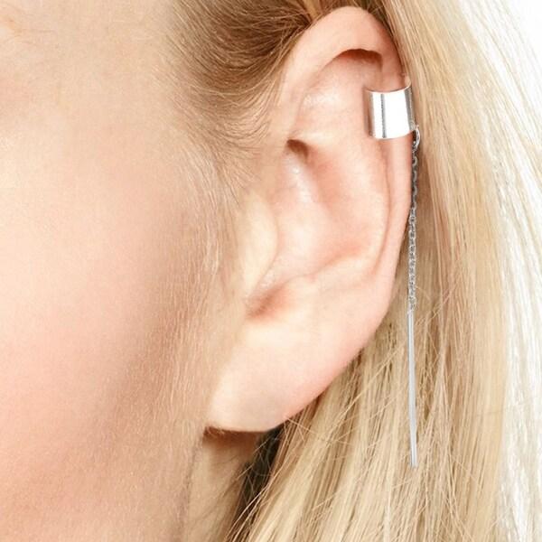 Stripy diamond earrings
