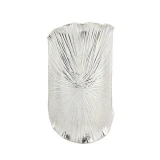 Handmade Lotus Leaf Wrap Hilltribe Fine Sterling Silver Adjustable Ring (Thailand)