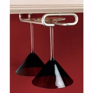 Rev-a-Shelf 11-inch Satin Nickel Stemware Holder