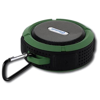 Tough Rugged Waterproof iPhone and Android Bluetooth Speaker (Option: Green)