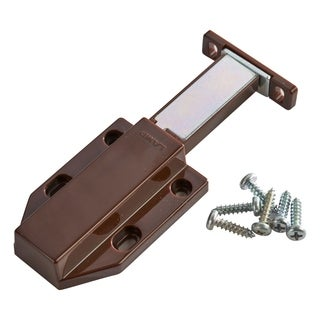 Sugatsune Brown Plastic Long Stroke Touch Magnetic Latch for Medium Sized Doors (Set of 2)