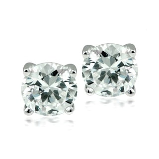 Round-cut Austrian Crystal Elements Stud Earrings