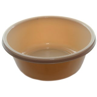 YBM Home Plastic Round Wash Basin