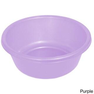 YBM Home Plastic Round Wash Basin