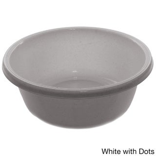 YBM Home 1151 Round Plastic Wash Basin