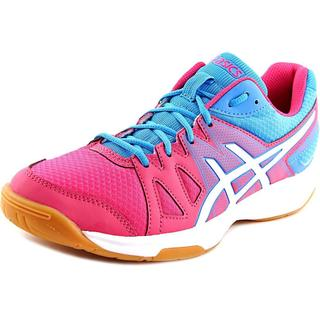 Asics Women's 'Gel-Upcourt' Pink Leather Athletic Shoes