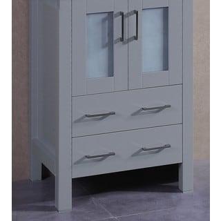 Bosconi 24-inch Single Vanity Cabinet