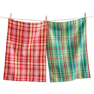 TAG Christmas Hip Holiday Woven Dishtowel (Set of 2)