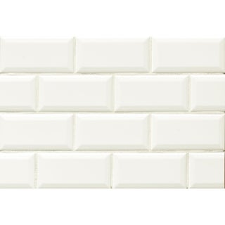 Bedrosians Tradition Ceramic Beveled Edge Tile (Case of 80)