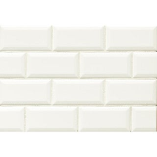 Bedrosians Tradition Ceramic Beveled Edge Tile (Case of 80) (2 options available)