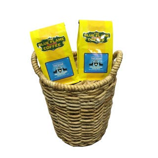 Seagrass Woven Basket FREE 2 packs of med-roast coffee|https://ak1.ostkcdn.com/images/products/13003578/P19747899.jpg?impolicy=medium