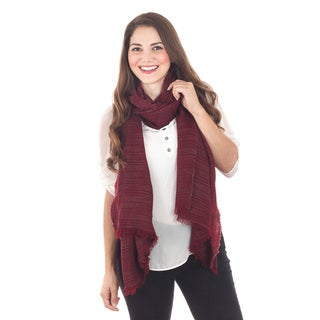 Striated Stripe Scarf