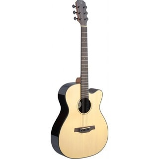 Lyne Series James Neligan Rosewood and Mahogany Auditorium Cutaway Acoustic/Electric Guitar