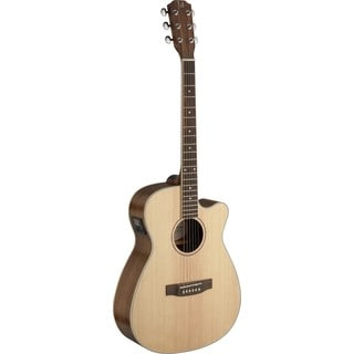 James Neligan ASY-ACE Asyla Series Auditorium Cutaway Acoustic-Electric Guitar