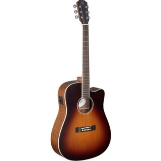 James Neligan EZR-DCFI Deveron Series Dreadnought Cutaway Acoustic-Electric Guitar