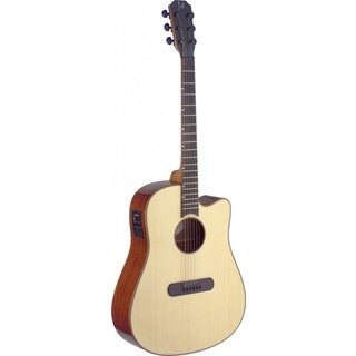 James Neligan LIS-DCFI Lismore Series Natural Dreadnought Cutaway Acoustic/Electric Guitar